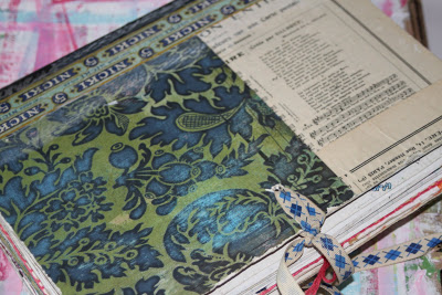 Making a Composition Book Art into a Journal 3 (Tutorial) via lilblueboo.com