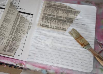 Making a Composition Book Art into a Journal 10 (Tutorial) via lilblueboo.com