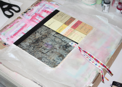 Making a Composition Book Art into a Journal 14 (Tutorial) via lilblueboo.com