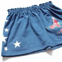Top tutortials week -Recycled 4th of July T-Shirt Skirt via lilblueboo.com