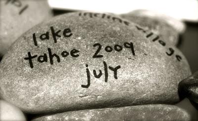 New Rock Addition: Lake Tahoe July 2009 via lilblueboo.com
