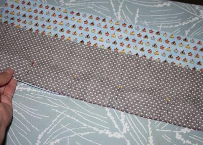 Cupcake Applique Shirt and Matching Skirt step 3 via lilblueboo.com