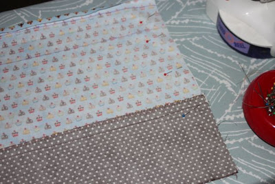 Cupcake Applique Shirt and Matching Skirt step 5 via lilblueboo.com