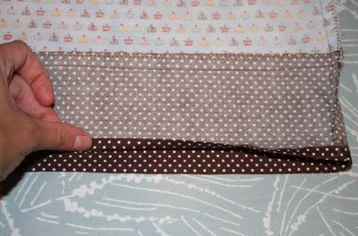 Cupcake Applique Shirt and Matching Skirt step 6 via lilblueboo.com