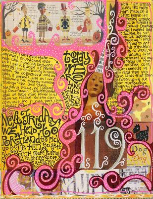 Journaling - Part V - Teesha Moore and Layering 2 via lilblueboo.com