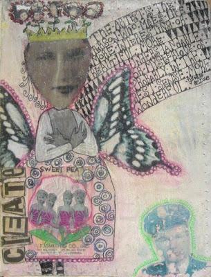 Journaling - Part V - Teesha Moore and Layering 6 via lilblueboo.com