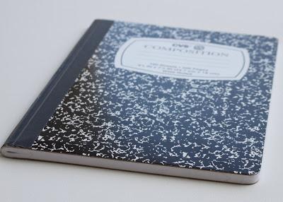 Making a Composition Book Art into a Journal 1 (Tutorial) via lilblueboo.com