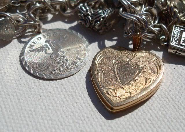 "Eclectic ""Catch All"" Charm & Trinket Bracelets 7 via lilblueboo.com"