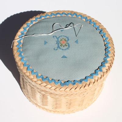 Generations - Brownie pickled sewing kit via lilblueboo.com