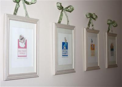 Hand-Sewn Ribbon-Top Curtain Tutorial extra ribbon 2 via lilblueboo.com