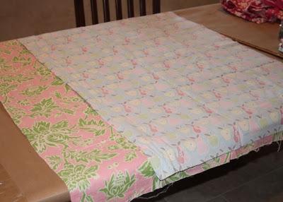 Wagon Cover Tutorial step 2 via lilblueboo.com