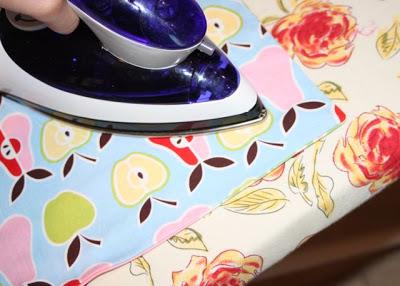 Wagon Cover Tutorial step 6 via lilblueboo.com