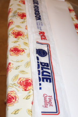 Place 2nd Layer Plastic in Sleeve - DIY Tutorial via lilblueboo.com