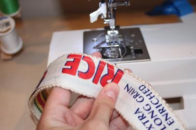One side attached - DIY Tutorial via lilblueboo.com