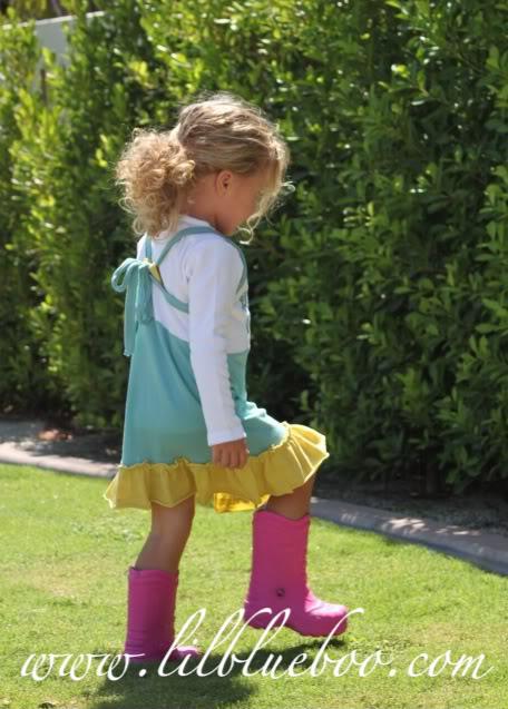 Cute as a jumper with super hero boots via lilblueboo.com