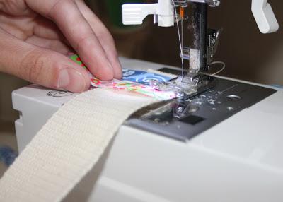 Scrap Ribbon Belt (A Tutorial) step 3 via lilblueboo.com