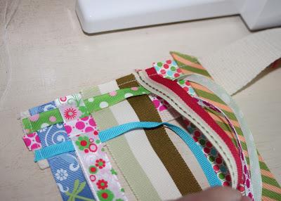 Scrap Ribbon Belt (A Tutorial) step 5 via lilblueboo.com