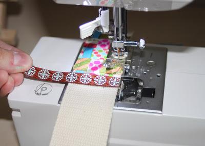 Scrap Ribbon Belt (A Tutorial) step 10 via lilblueboo.com