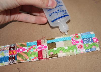 Scrap Ribbon Belt (A Tutorial) step 12 via lilblueboo.com
