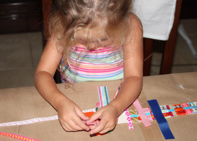 Scrap Ribbon Belt (A Tutorial) step 13 via lilblueboo.com