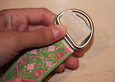 Scrap Ribbon Belt (A Tutorial) step 15 via lilblueboo.com