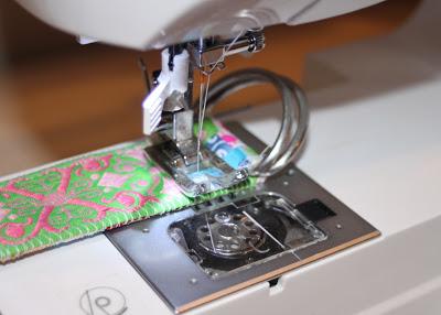 Scrap Ribbon Belt (A Tutorial) step 16 via lilblueboo.com