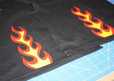 Flaming Pants tutorial step 9 via lilblueboo.com