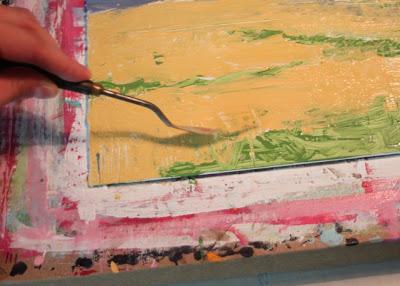 How to Fake a Landscape Painting (A Tutorial) step 4 via lillbueboo.com