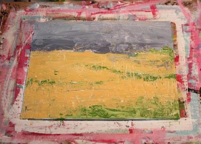 How to Fake a Landscape Painting (A Tutorial) step 5 via lillbueboo.com