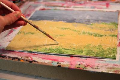 How to Fake a Landscape Painting (A Tutorial) step 6 via lillbueboo.com