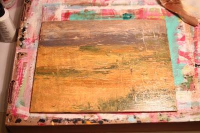 How to Fake a Landscape Painting (A Tutorial) step 17 via lillbueboo.com