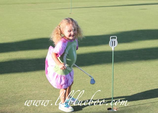 The Original Lil Golf Girl 6 via lilblueboo.com