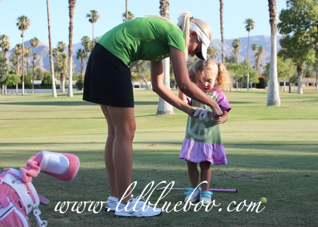 The Original Lil Golf Girl 2 via lilblueboo.com