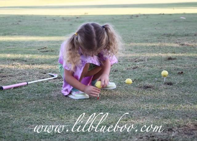 The Original Lil Golf Girl 4 via lilblueboo.com