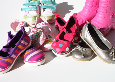 """""""Mom, do you think I could have something """"store"""" bought shoes via lilblueboo.com"""