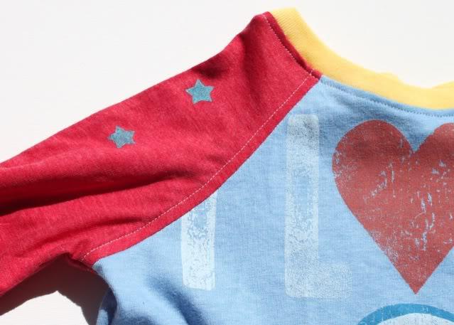 Sienna dress keeper using four different t-shirts via lilblueboo.com