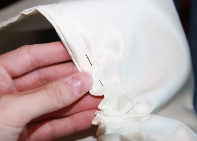 Wedding Part I: The Ring Pillow step 6 via lilblueboo.com