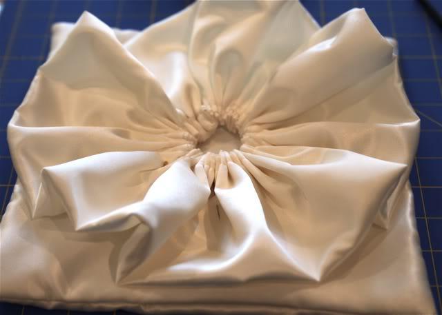 Wedding Part I: The Ring Pillow step 10 via lilblueboo.com