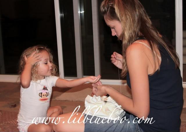 Wedding Part I: The Ring Pillow step 20 via lilblueboo.com