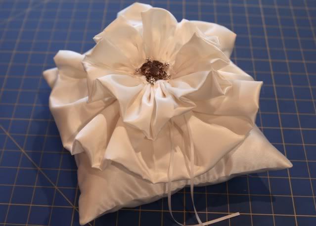 Wedding Part I: The Ring Pillow step 22 via lilblueboo.com