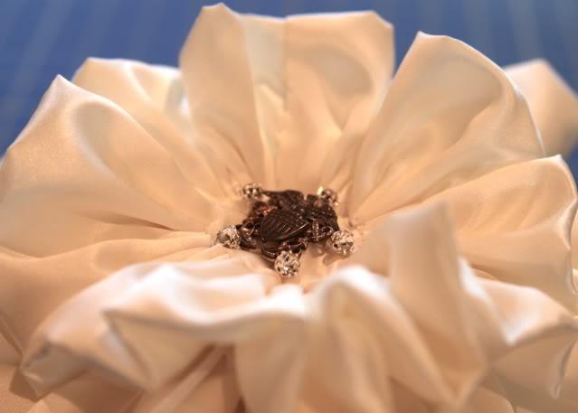 Wedding Part I: The Ring Pillow step 19 via lilblueboo.com