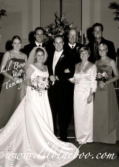 Wedding Part IV: Countdown family via lilblueboo.com