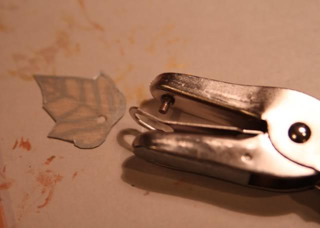 How to make a necklace with Shrinky Dinks! Remember those? DIY Tutorial step 4 via lilblueboo.com