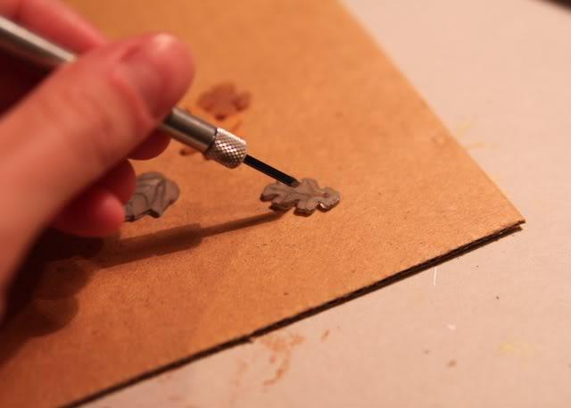 How to make a necklace with Shrinky Dinks! Remember those? DIY Tutorial step 8 via lilblueboo.com