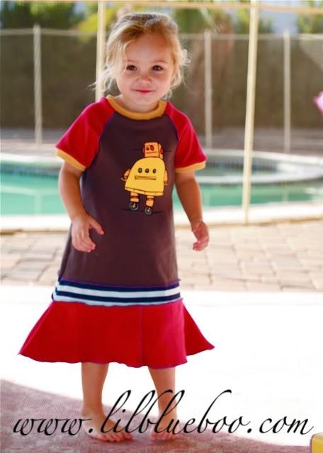 Domo arigato, Lil Miss Roboto 2 via lilblueboo.com