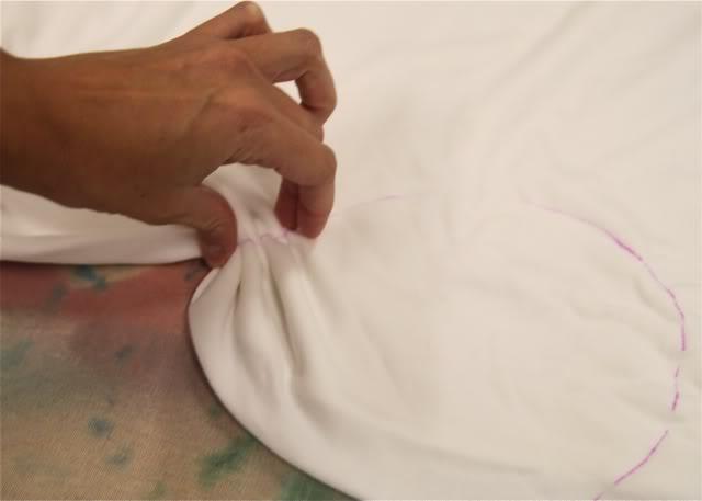 "I ""Heart"" Tie Dye bunch fabric via lilblueboo.com"