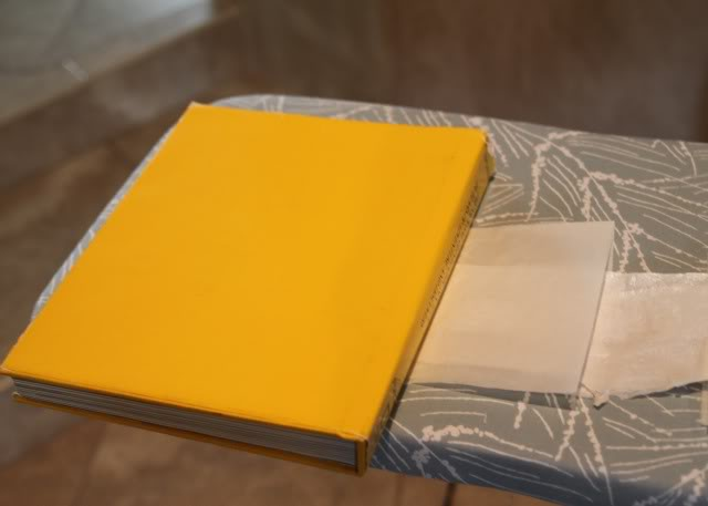Fused Plastic Patchwork Belt (A Tutorial) step 6 book via lilblueboo.com