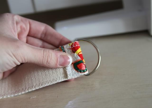 Fused Plastic Patchwork Belt (A Tutorial) step 10 via lilblueboo.com