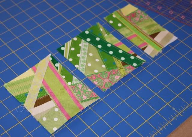 Scrap Ribbon Wallet/Clutch Tutorial step 5a via lilblueboo.com