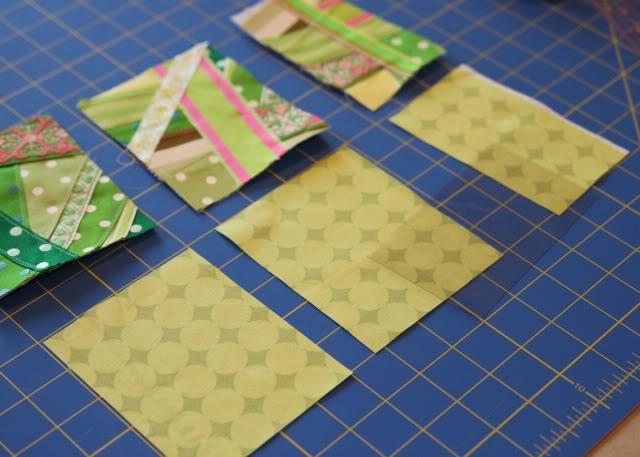 Scrap Ribbon Wallet/Clutch Tutorial step 6 via lilblueboo.com